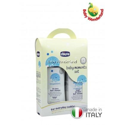 Chicco Baby Moments Set: No-tears Bath Shampoo